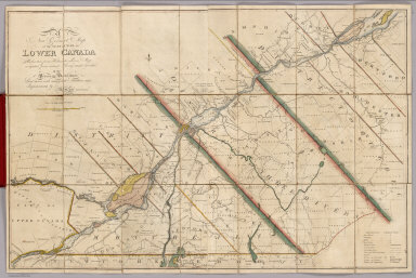 A New Correct Map of the Seat of War in Lower Canada. Protracted from Hollands Large Map compiled from actual Survey made by order of the Provincial Government. Laid down with many late Additions and Improvements by Amos Lay, Land Surveyor. Published by A. Lay & J. Webster, Philada. H.S. Tanner sc.