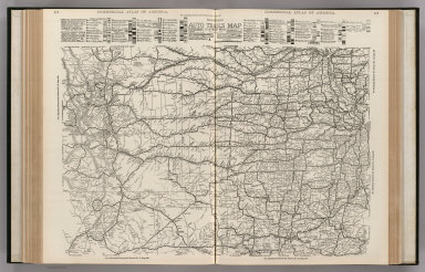 Commercial Atlas of America. Rand McNally AutoTrails Map, District Number 12, Southern Nebraska, Eastern Colorado, Kansas, N.E. New Mexico, Northern Oklahoma.