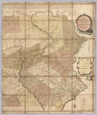 A Map Of The State Of Pennsylvania, By Reading Howell, MDCCXCII. To Thomas Mifflin Governor, The Senate, And House Of Representatives Of The Commonwealth Of Pennsylvania, This Map is respectfully Inscribed by the Author.