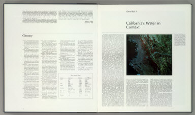 Foreword (continued). Glossary. Chapter 1. California's Water in Context.