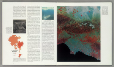 Chapter 4. Urban Development and the Rise of Public Control (continued). (Color infrared space image of the greater Los Angeles).