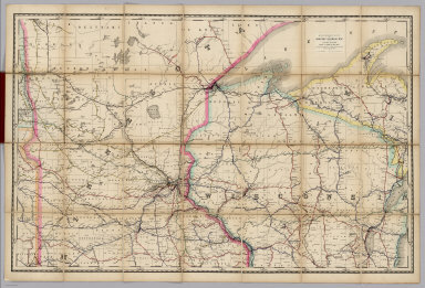 Rand, McNally & Co.'s New Shippers' Railroad Map of the United States. Scale: 8 miles to one inch. Showing all railroads, each in a separate color, and all railroad stations in large, plain type. This is the St. Paul section, only, of the above-named map. (Below the neatline) Rand, McNally & Co.'s New Shippers' Railroad Map of the United States, Copyright, 1888 by Rand, McNally & Co. Copyright, 1891 by Rand, McNally & Co.
