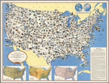 Browse All Images of United States from 1950 David Rumsey