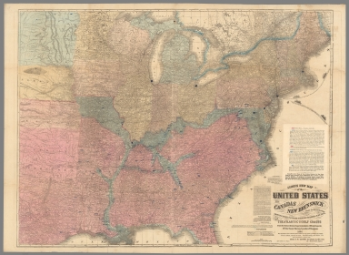 Browse All Images From US Civil War David Rumsey Historical - Map of the us
