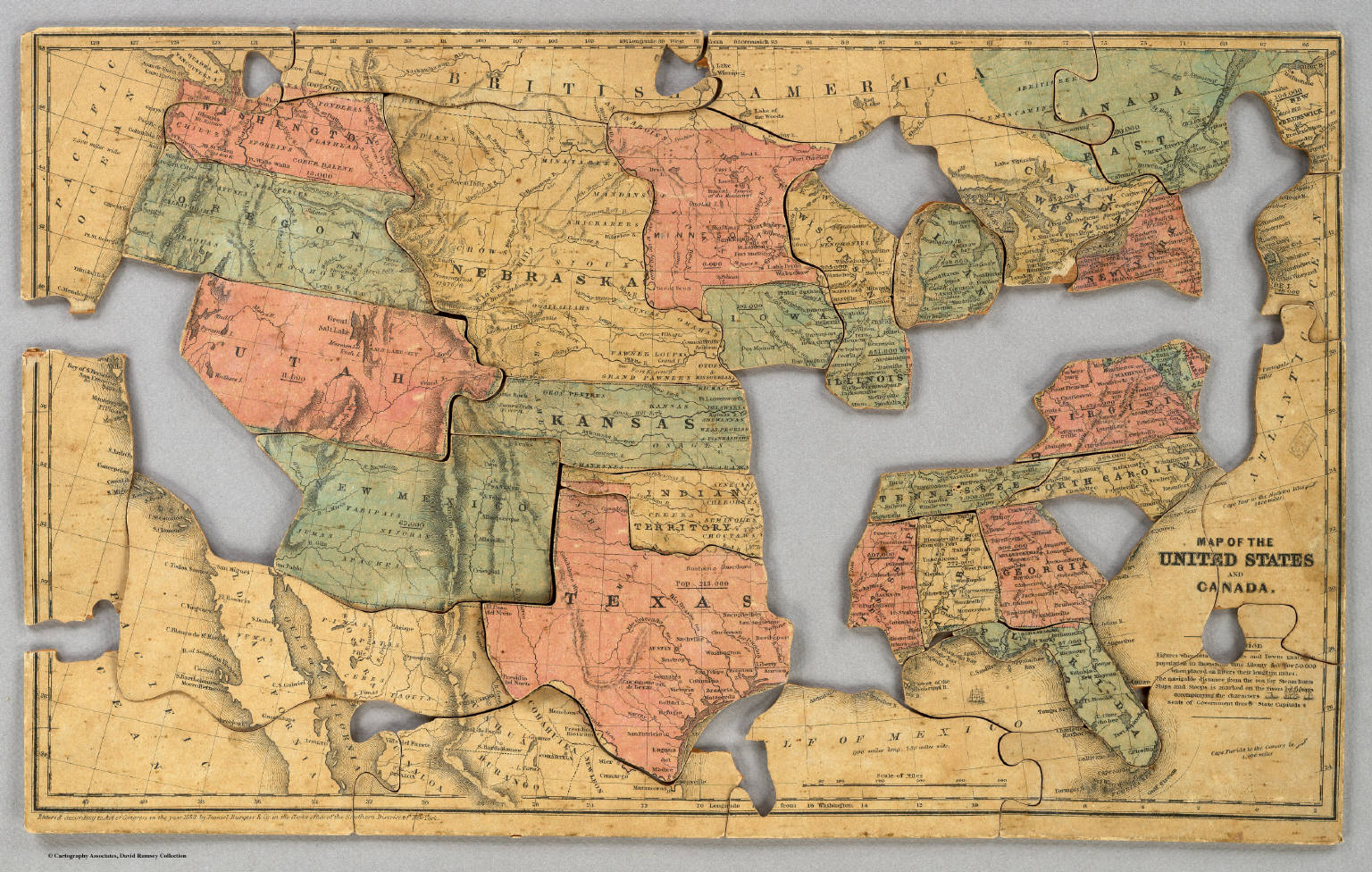 Map Of The United States And Canada World Map - Map os us and canada