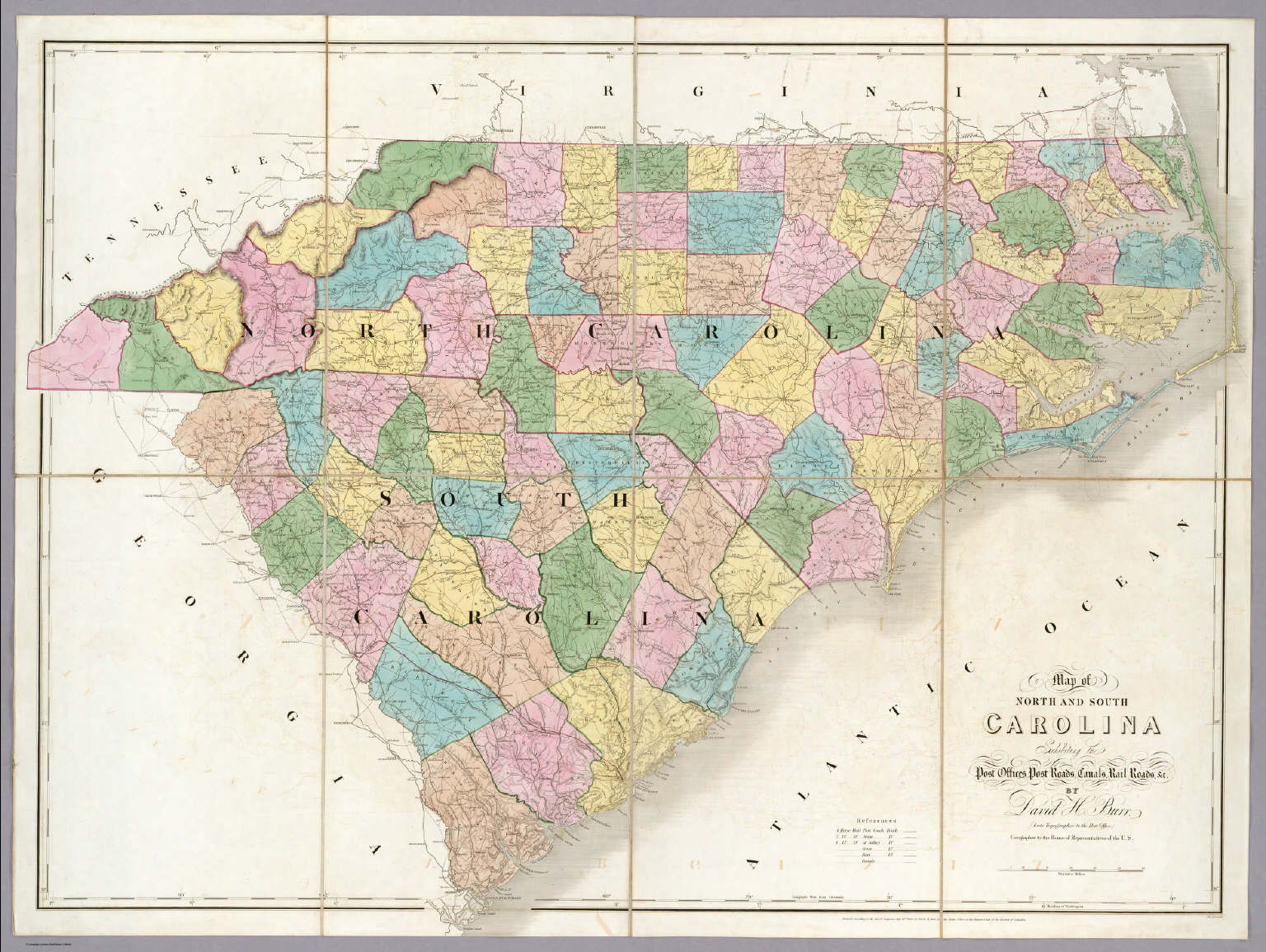 Optimus 5 Search  Image  Map Of North Carolina And South