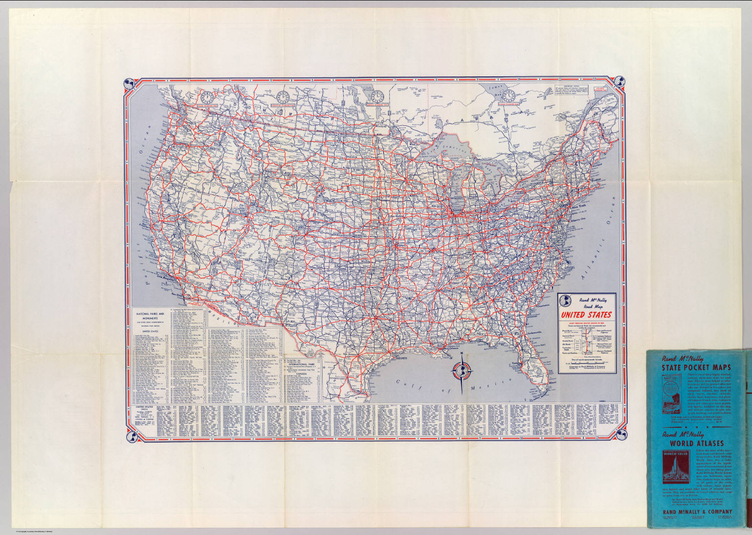 Road map United States David Rumsey Historical Map Collection – Us Travel Map States
