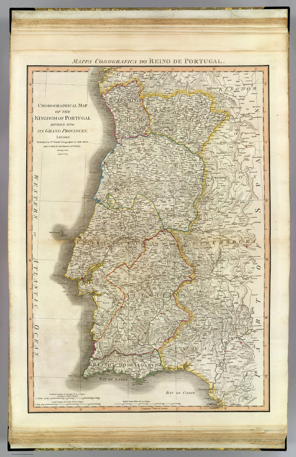 Portugal David Rumsey Historical Map Collection - Portugal historical map