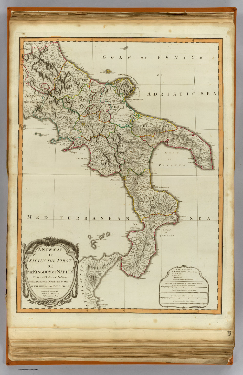 Kingdom Of Two Sicilies Map