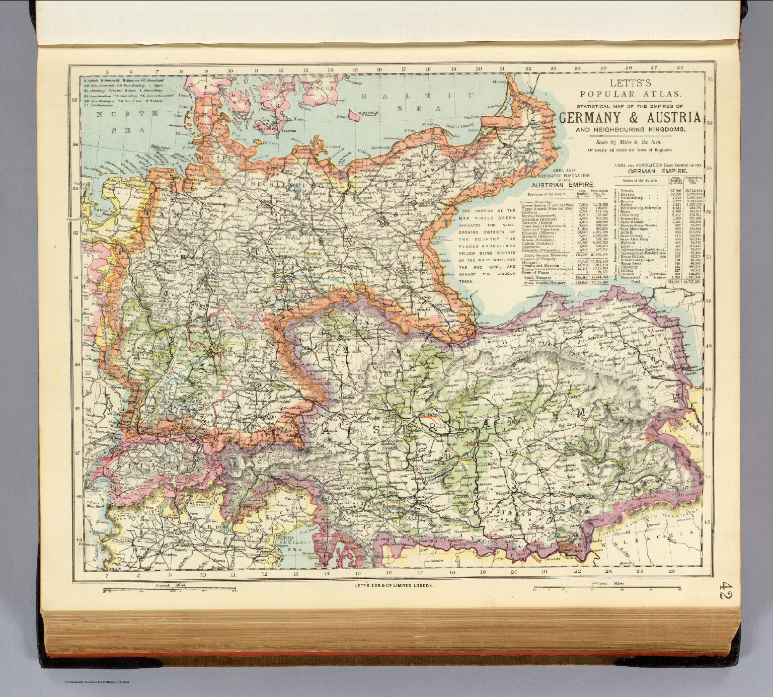 Germany Austria David Rumsey Historical Map Collection – Map Austria Germany