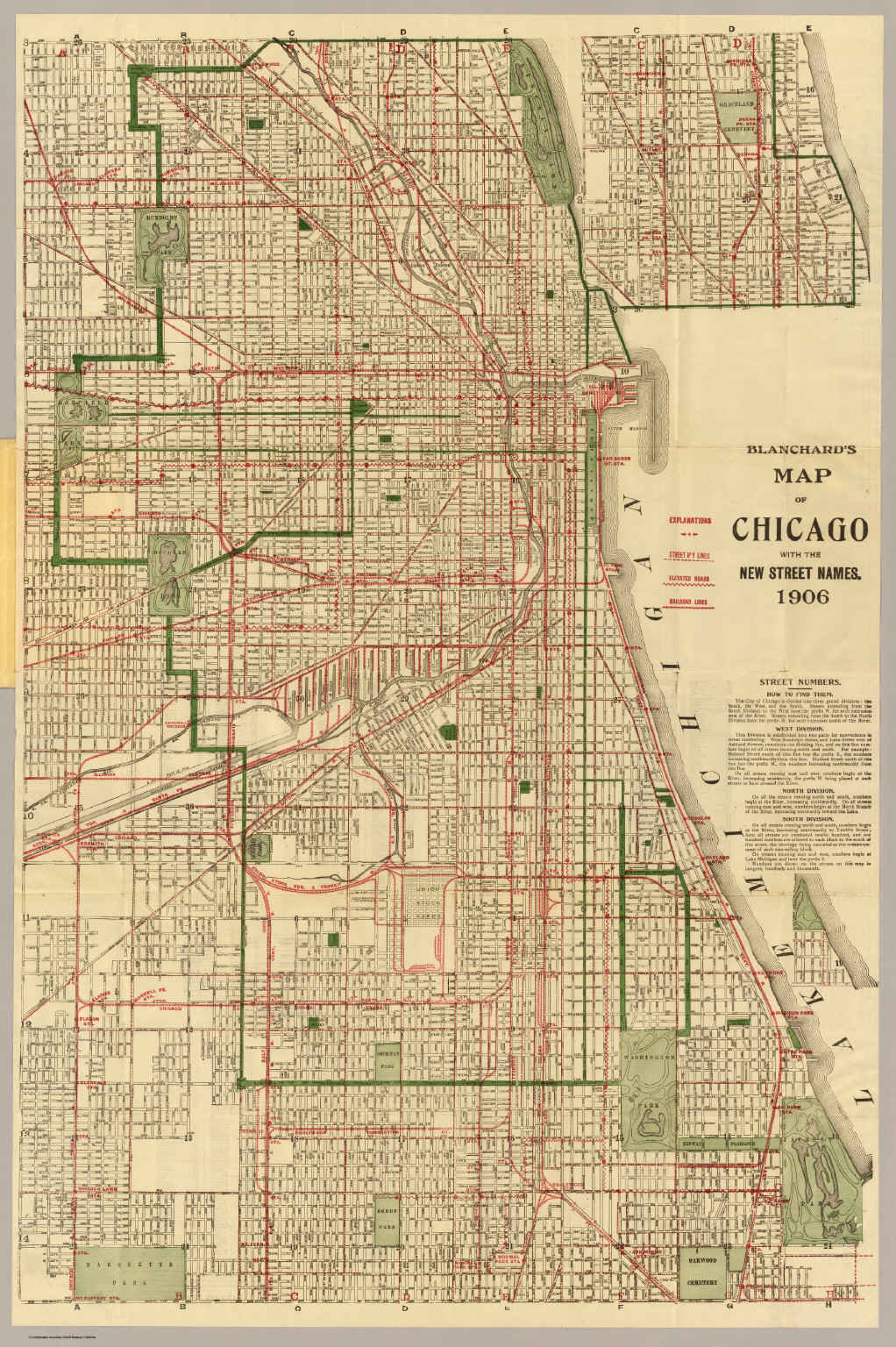 Map Of Chicago Street Names