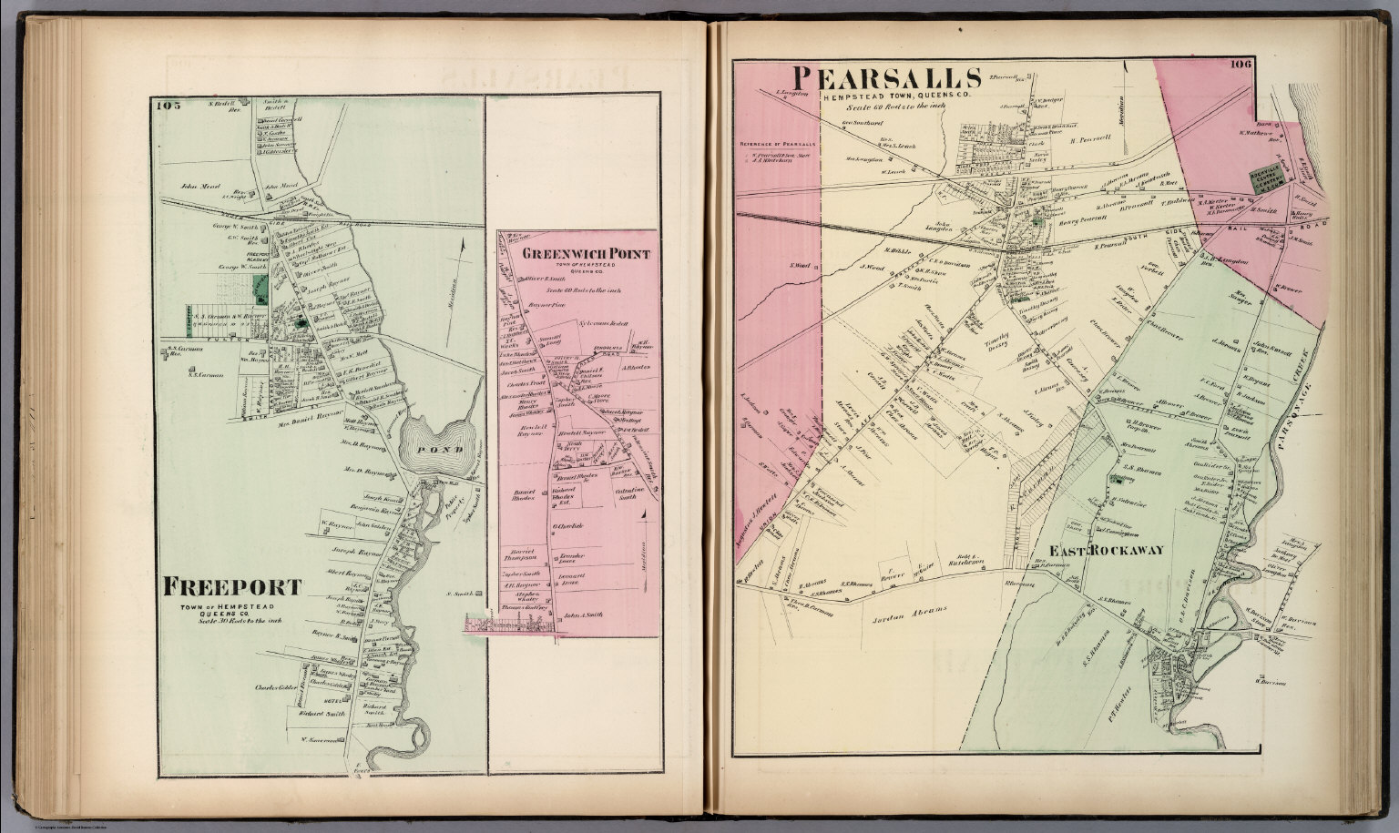 Freeport, Town of Hempstead, Queens Co. Greenwich Point, Town ofhempstead town