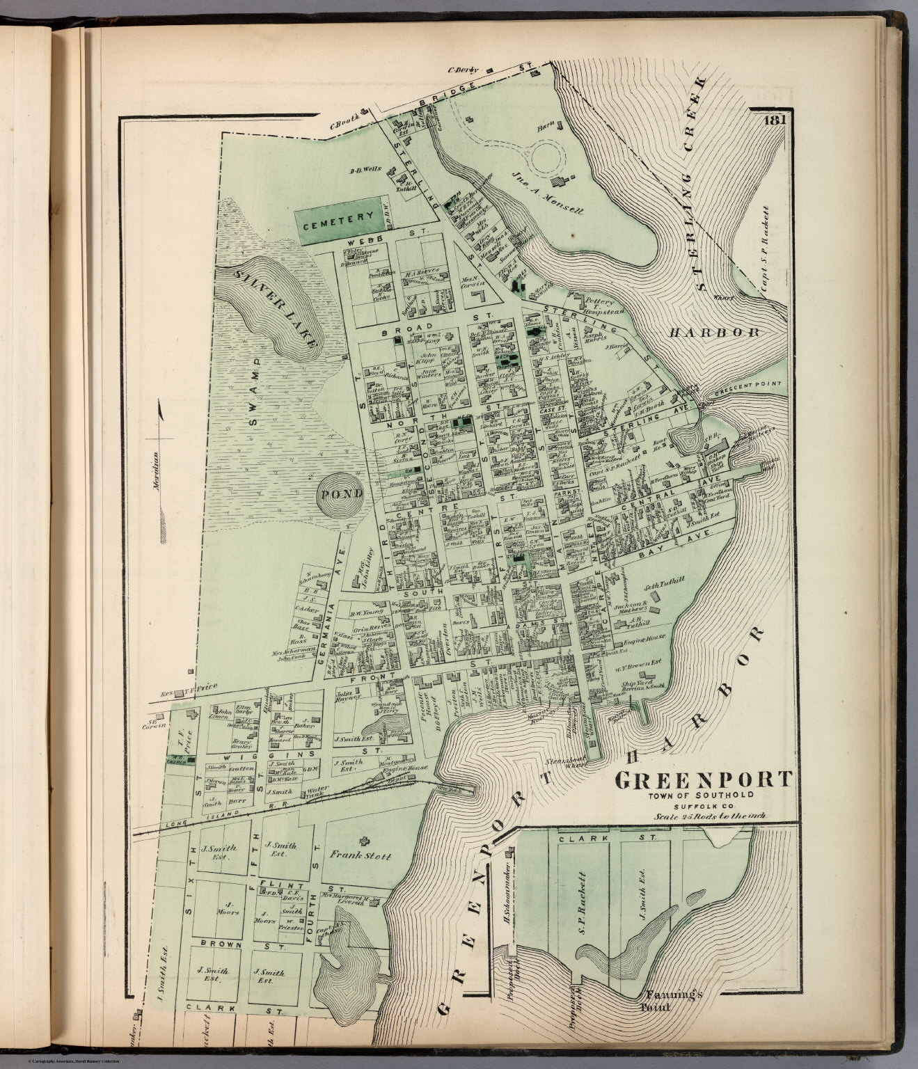 Greenport, Town of Southold, Suffolk Co. - David Rumsey Historicalgreenport town