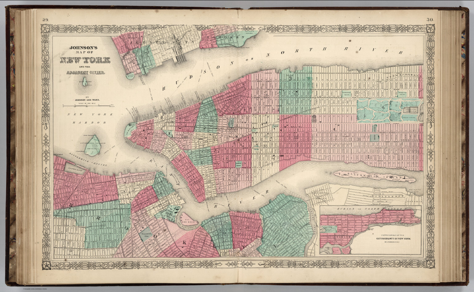 New York City David Rumsey Historical Map Collection - Nyc map to print