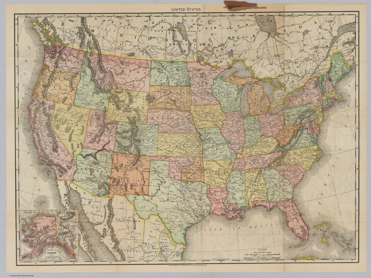 United States David Rumsey Historical Map Collection - United states map atlas