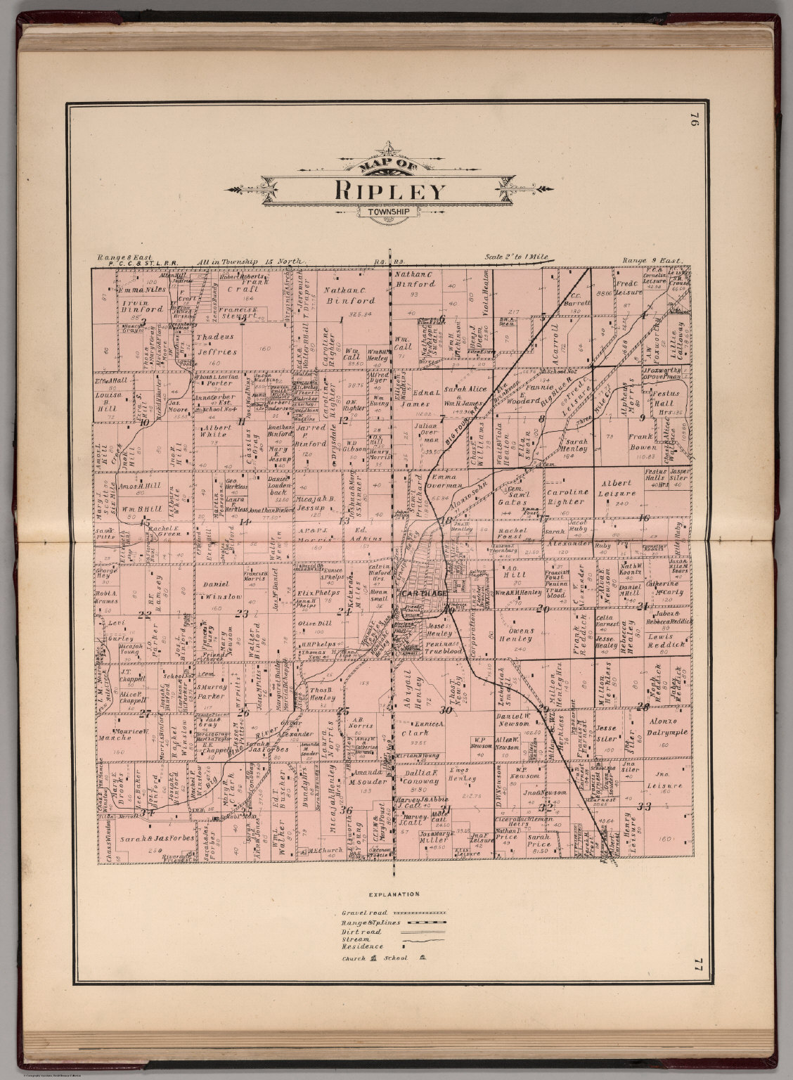 Indiana rush county - Ripley Township Rush County Indiana