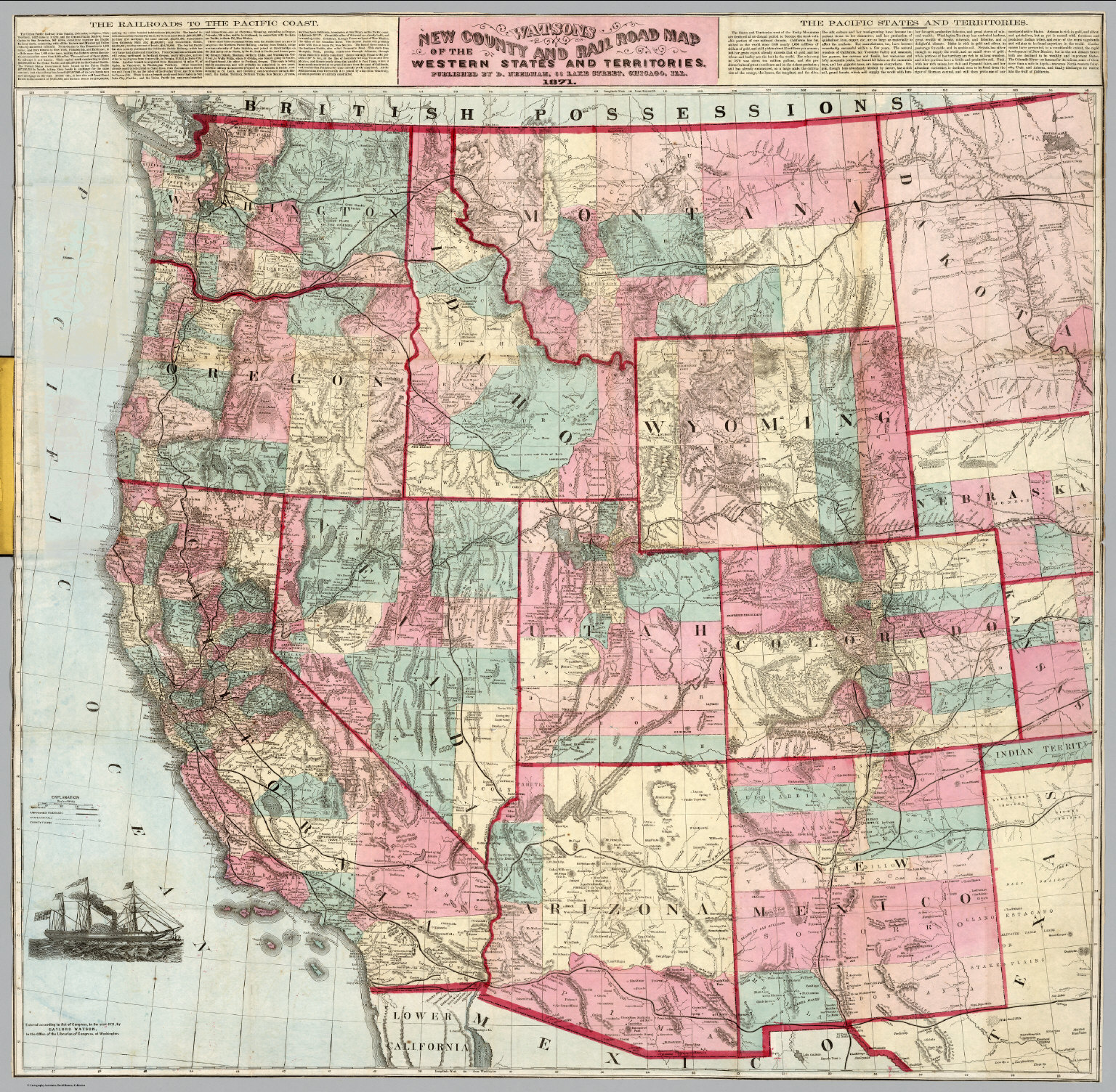 Map Western State Capitals Of The United States Worksheet United - Map of the western us states