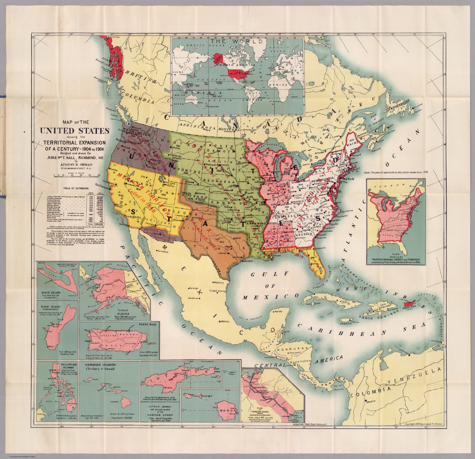 United States David Rumsey Historical Map Collection - 1804 us map