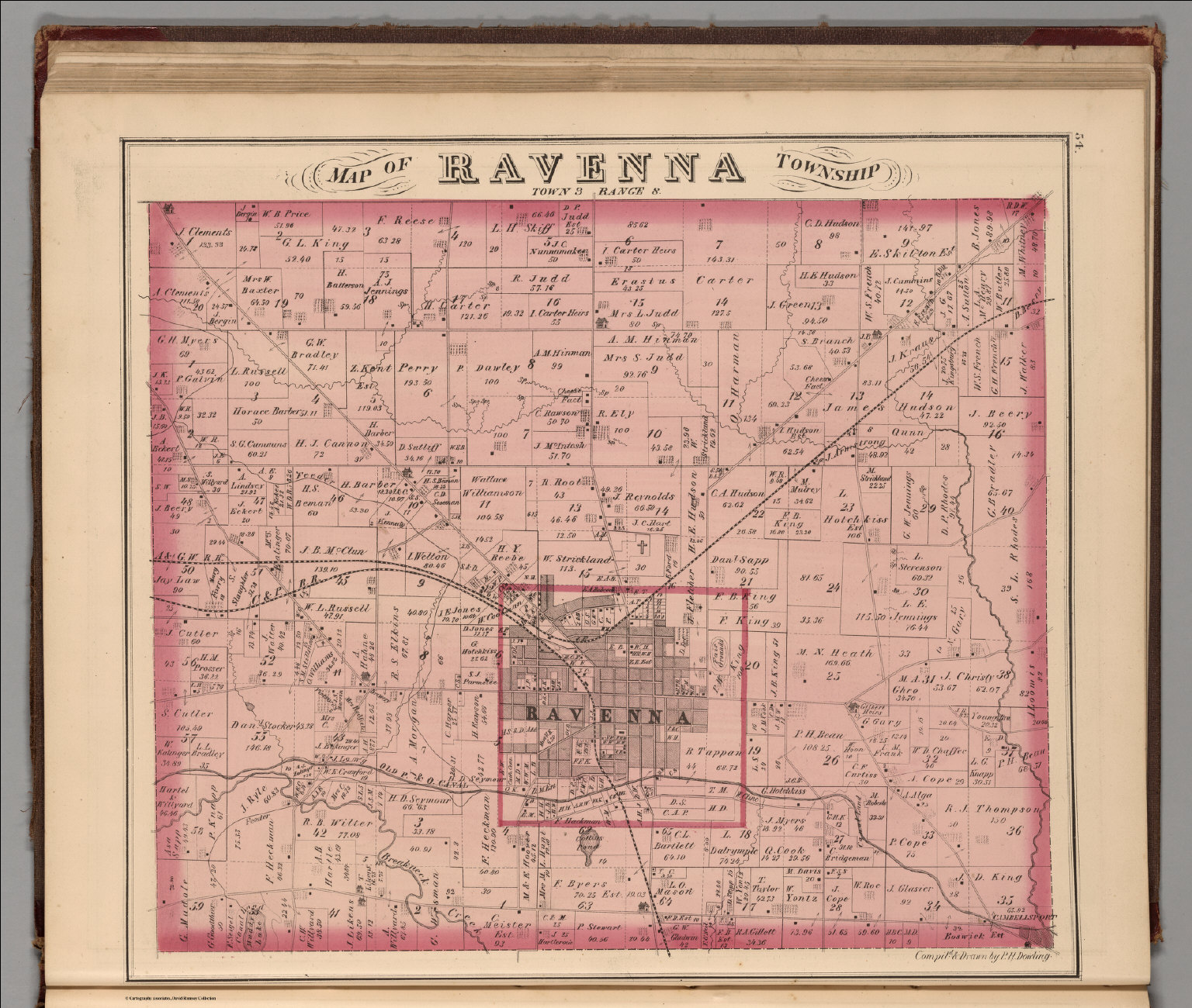 Map of Ravenna Township. - David Rumsey Historical Map Collectionravenna township
