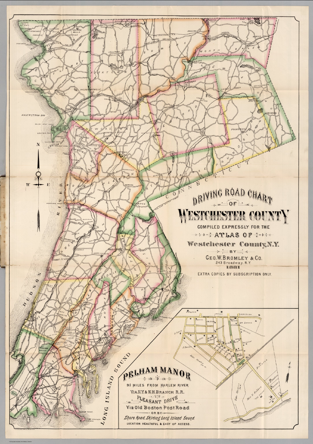 County routes in Westchester County New York