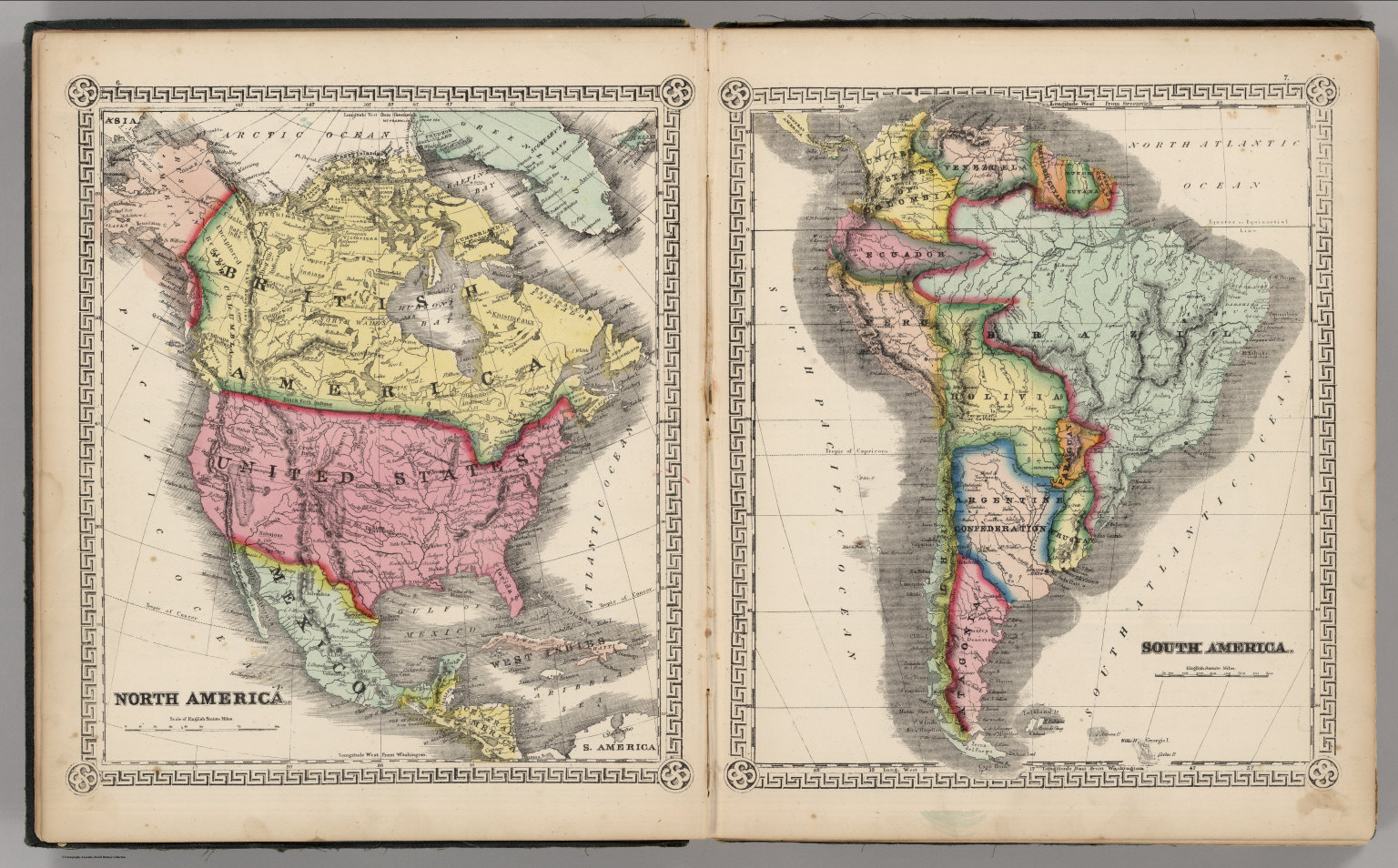 Map Of North And South America Map South North America Countries - Early maps of america