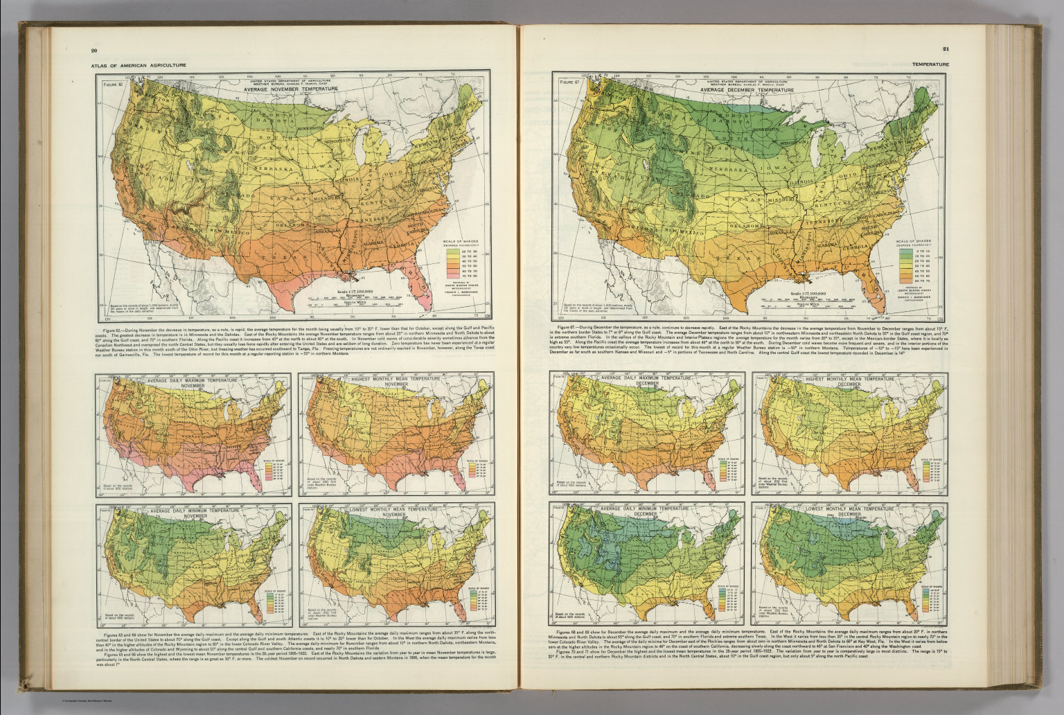 Assessing The US Climate In February National Centers For US - Us average temperature map december