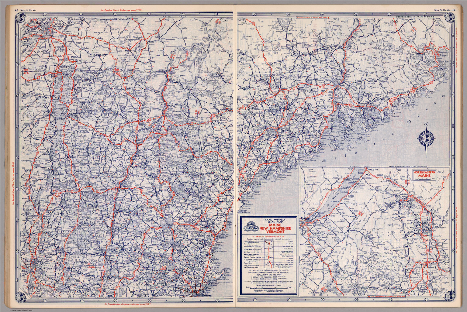 Map Maine Vermont New Hampshire Submited Images
