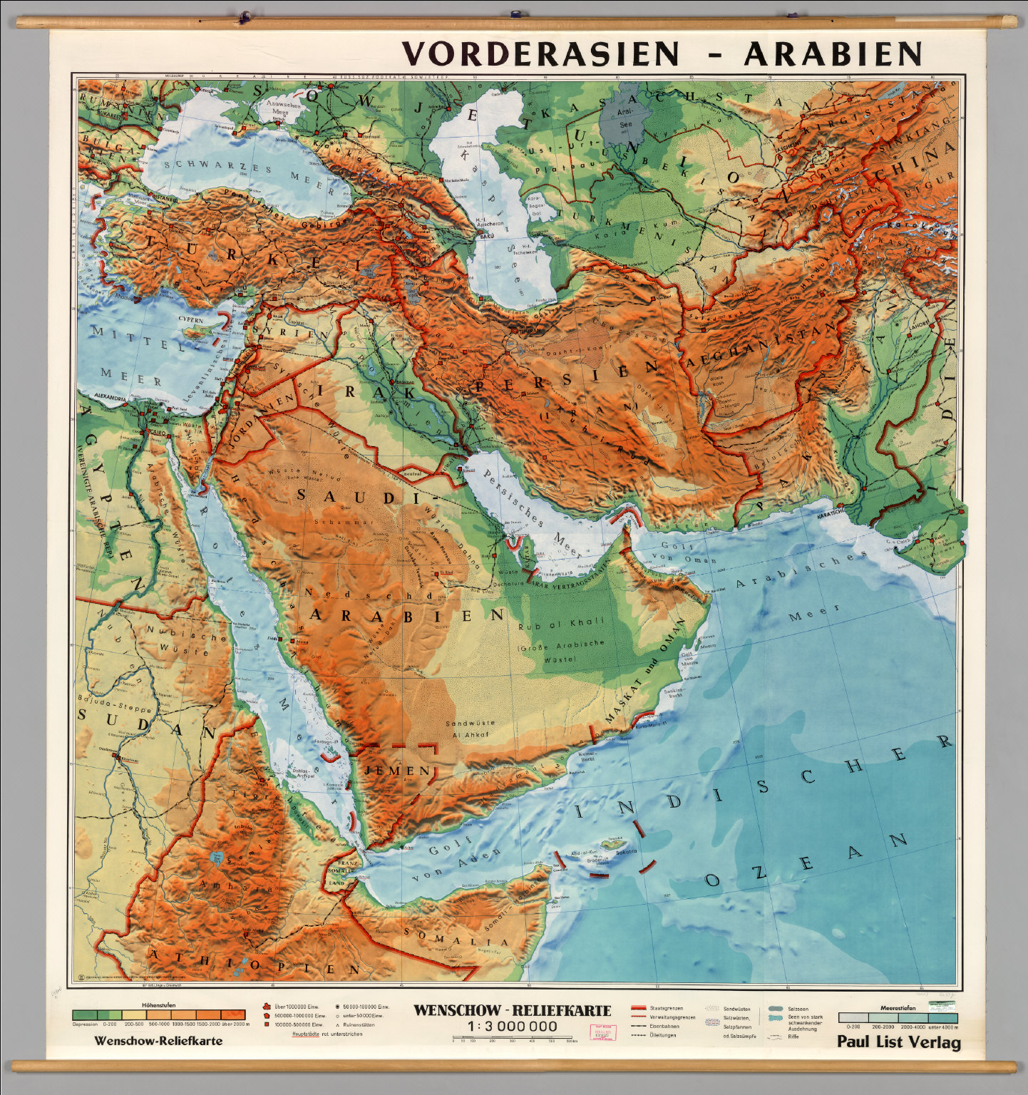 Physical Map Of Southwest Asia The Image Kid Has It