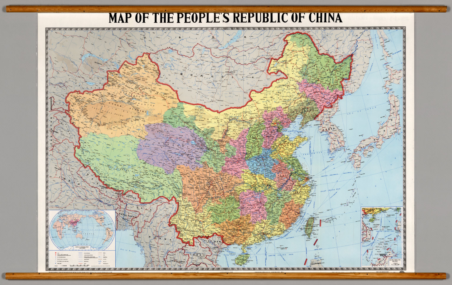 China Map High Resolution