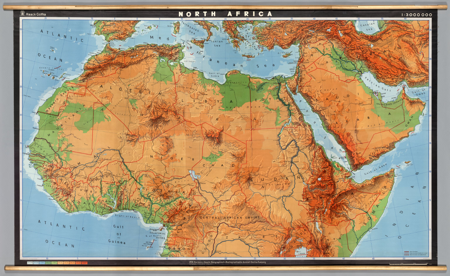 Map North Africa Kelloggrealtyinc