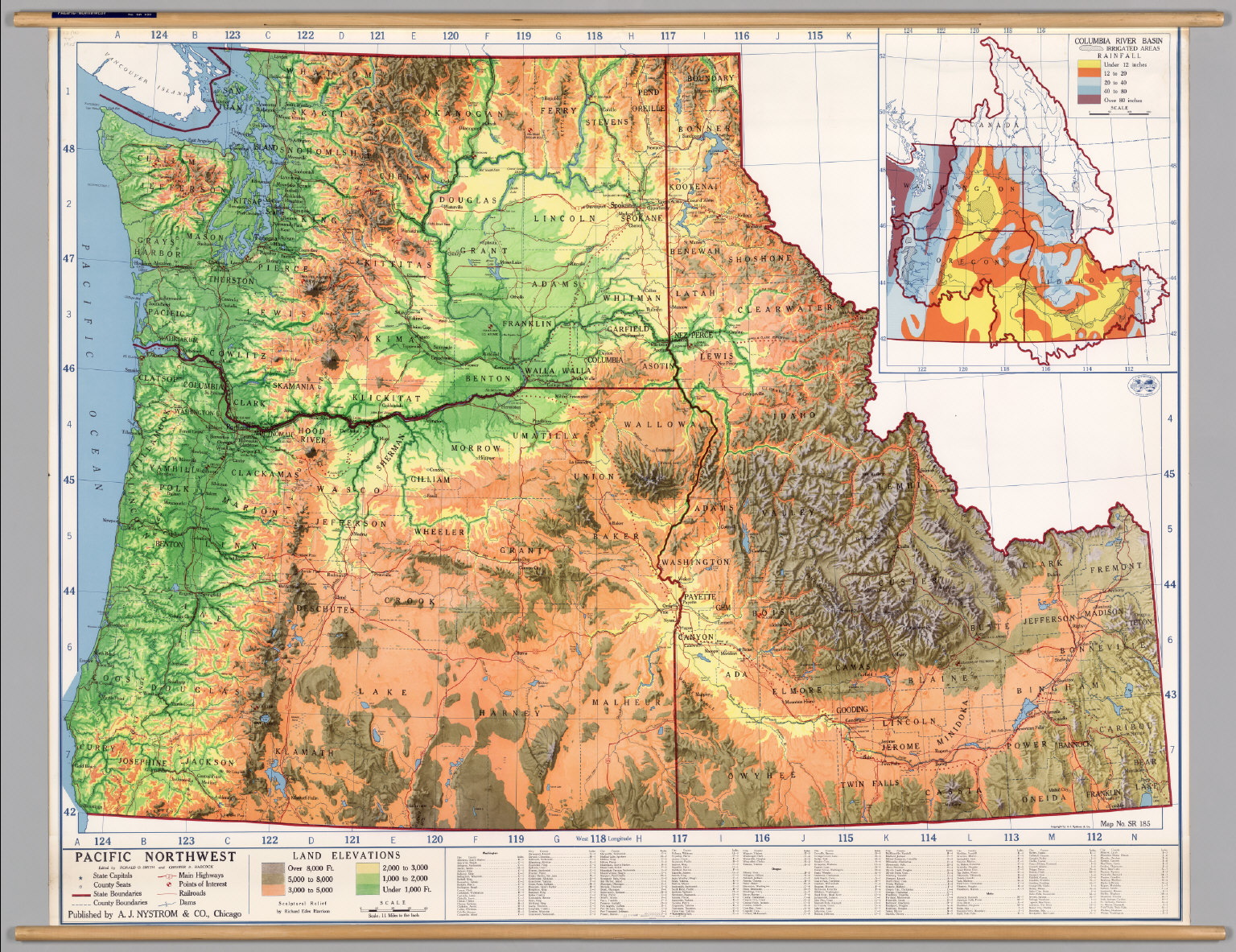 Northwest Map Related Keywords  Suggestions Northwest Map Long - Map of pacific northwest usa