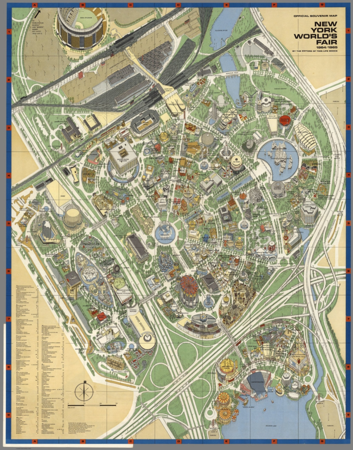 1964 World s Fair Map OnlineShoesNike