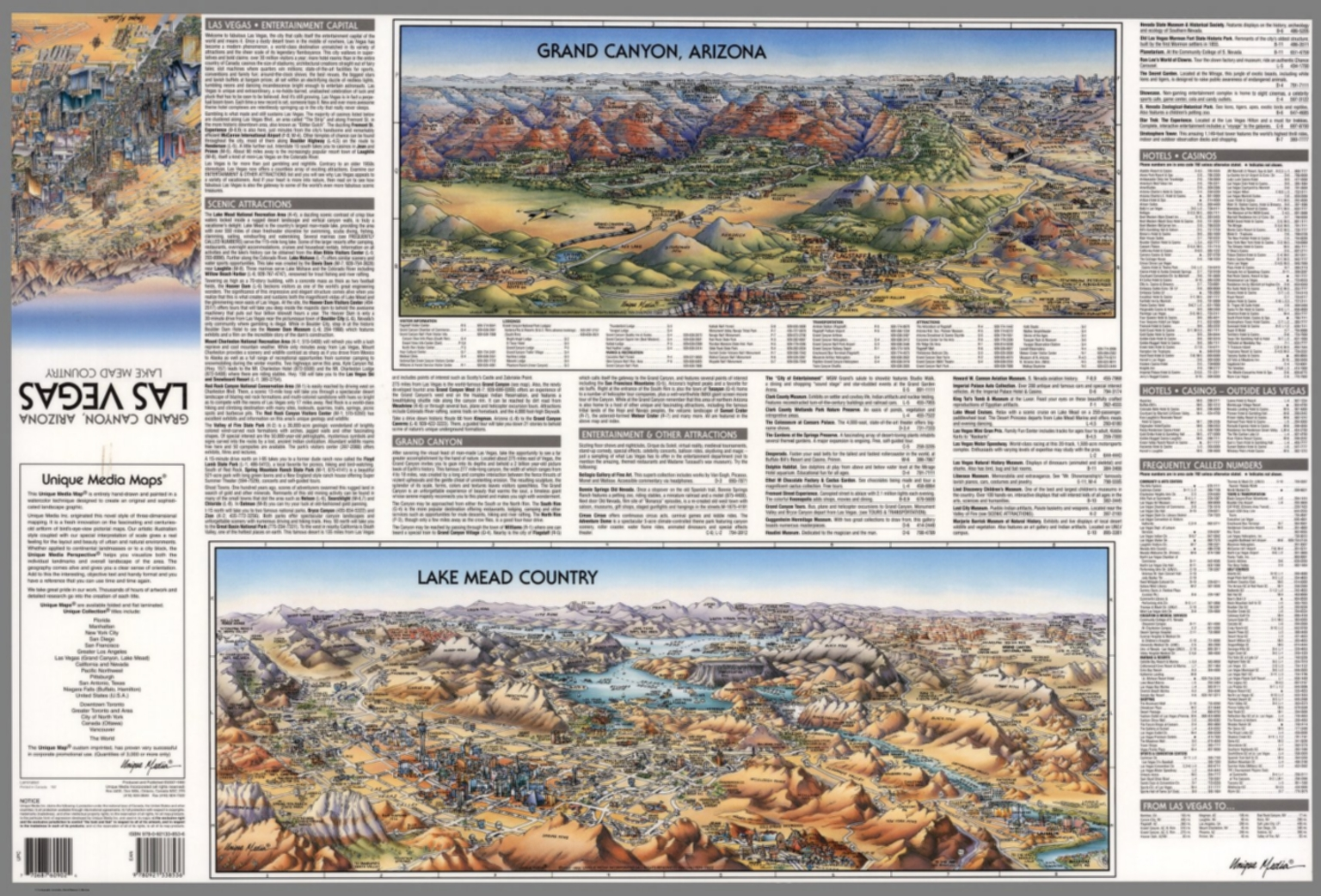 grand canyon arizona lake mead country text tourist information david rumsey historical map collection. grand canyon arizona lake mead country text tourist