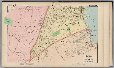 Section H. Clifton, Village of Edgewater. (Staten Island, New York).