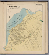 Section K. Tottenville. (Staten Island, New York).