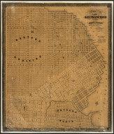 Official Map Of The City Of San Francisco, California