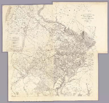 Map Of N. Eastern Virginia And Vicinity Of Washington