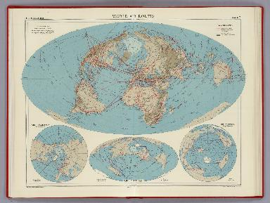 World Air Routes, Plate 7, v.1