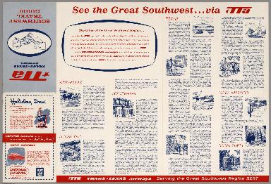 Text Page: See the Great Southwest ... via TTA.