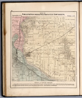 Parts of Oakland, Concord & Columbus City Townships, Louisa County, Iowa.