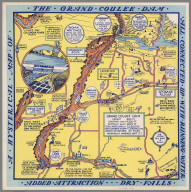 A Hysterical Map of the Grand Coulee Dam.