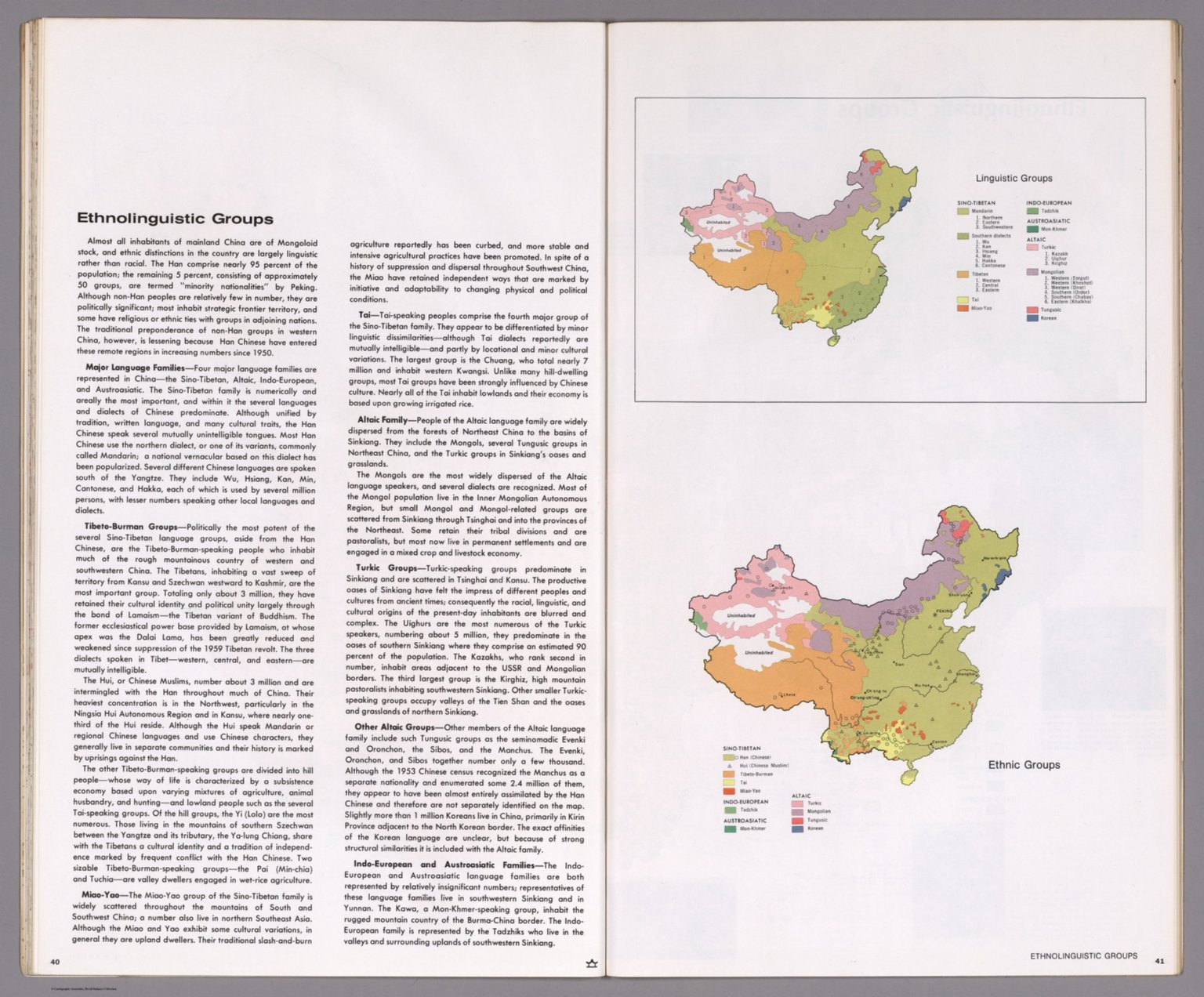 Text Page: Ethnolinguistic Groups