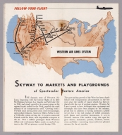 Text Page: Follow your Flight : Skyway to markets and playground of spectacular Western America