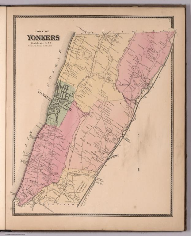 Town of Yonkers, Westchester County, New York.