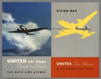 Covers: United Air Lines : The Main Line Airway - Coast to Coast. Ed Boehmer