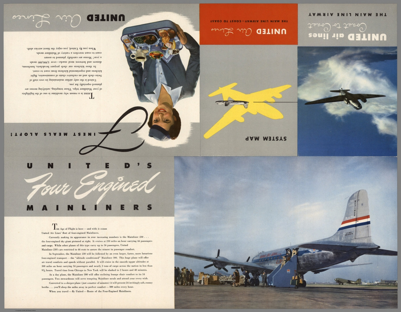 Text Page: United Air Lines : The Main Line Airway - Coast to Coast. Ed Boehmer