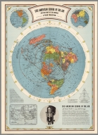 CBS American School of the Air, Air Age Map of the World, A Polar Projection.