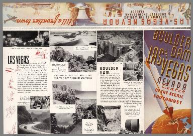 Text Page: Boulder Dam and Las Vegas, Nevada, center of the scenic Southwest