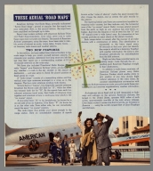 """Text Page: These Aerial """"road maps"""""""