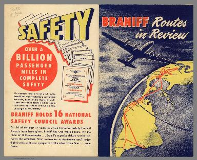 Covers: Braniff routes in review